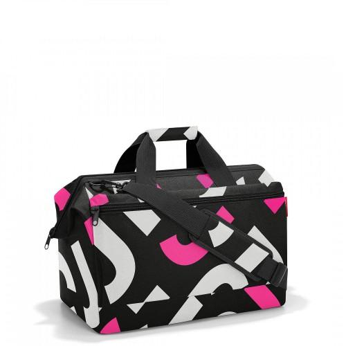 Reisenthel Allrounder L pocket Torba, signature bold pink