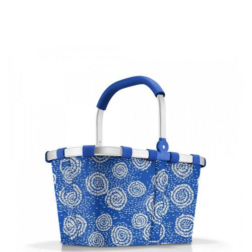 Reisenthel Carrybag Koszyk na zakupy, batik strong blue
