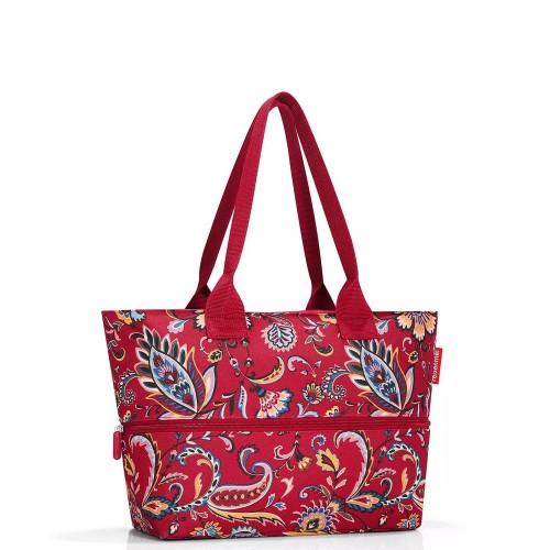 Reisenthel Shopper e1 Torba na zakupy, paisley ruby