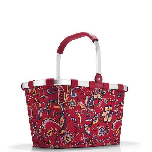 Reisenthel Carrybag Koszyk na zakupy, paisley ruby