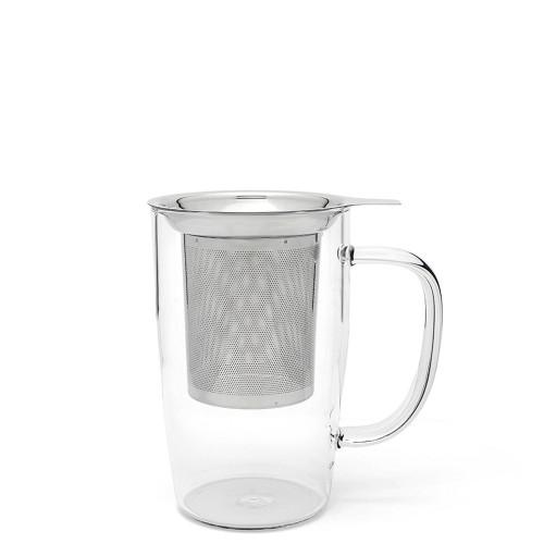 Bredemeijer Bredemeijer Kubek z zaparzaczem szklany