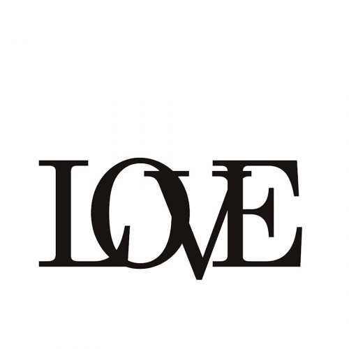 DekoSign Love Napis dekoracyjny