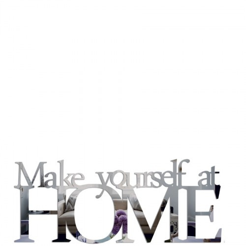 DekoSign Make yourself at home lustro dekoracyjne