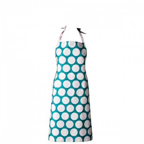 Mavia Cleopatra Błękitne grochy Apronessa jak sukienka