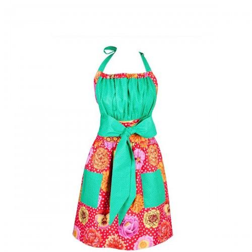 Mavia Salima Letni Ogród Apronessa jak sukienka