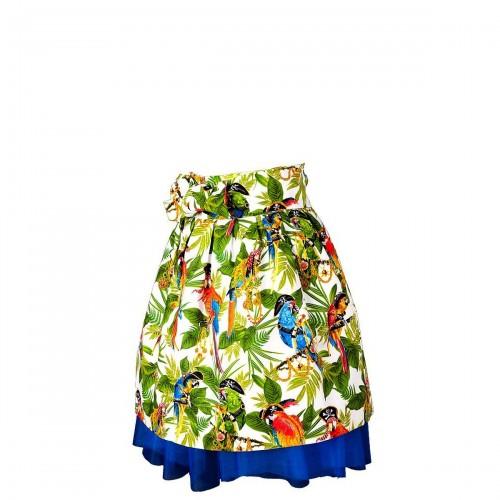 Mavia Aleksandra Papugi z Rajskiego ogrodu Apronessa jak spódnica z tiulem