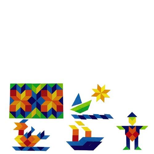 Haba Mozaika Kolorowa Układanka