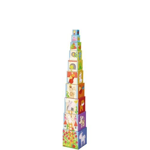 Haba Roszpunka Wieża z kostek