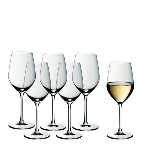 WMF Easy Plus Zestaw kieliszków do białego wina, 6 szt.