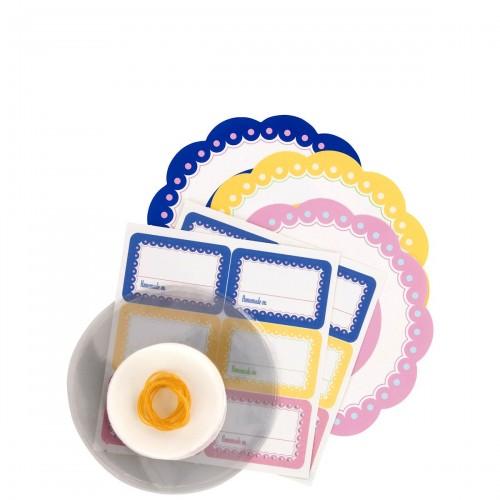 Tala Homemade zestaw do dekorowania słoików
