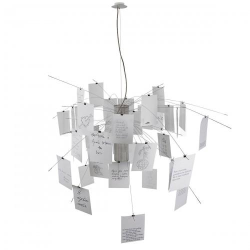 Ingo Maurer Zettelz 5 lampa wisząca