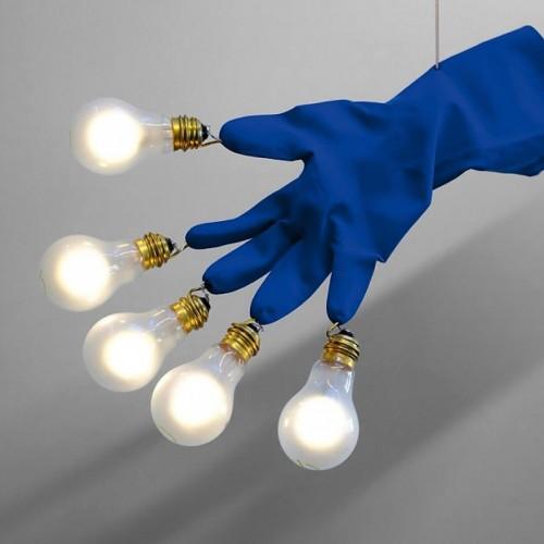 Ingo Maurer Luzy Take Five lampa wisząca