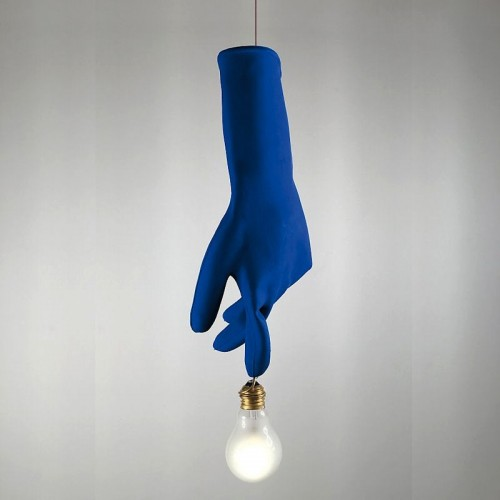 Ingo Maurer Luzy Blue lampa wisząca