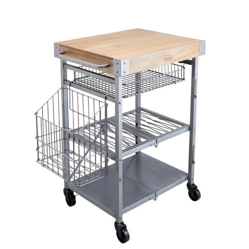 Kitchen Craft Kitchen Craft mobilny, składany wózek kuchenny