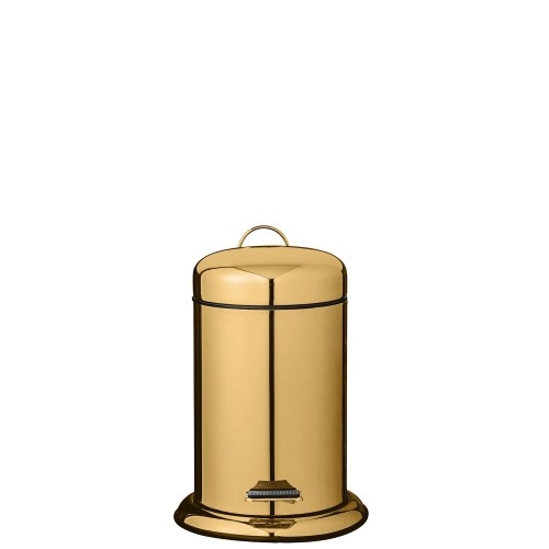 Bloomingville Gold Finish kosz łazienkowy