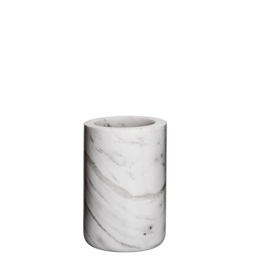 Bloomingville Kubek łazienkowy z białego marmuru