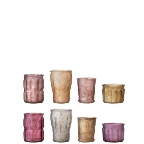Bloomingville Votive Zestaw 8 szklanek