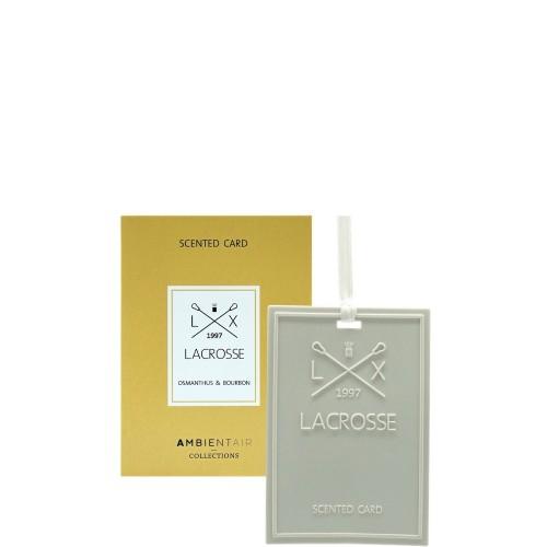 LACROSSE osmanthus&bourbon Kartka zapachowa