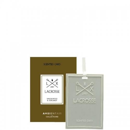 LACROSSE Sandalwood&bergamot Kartka zapachowa