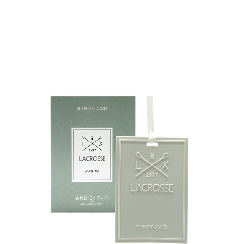 LACROSSE White tea Kartka zapachowa
