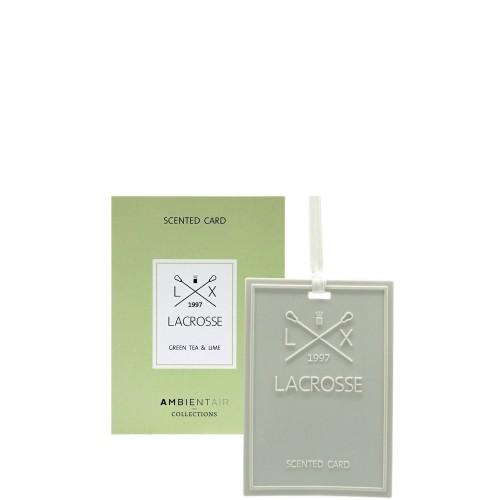 LACROSSE Green tea&lime Kartka zapachowa