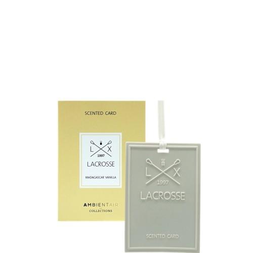 LACROSSE Madagascar vanilla Kartka zapachowa