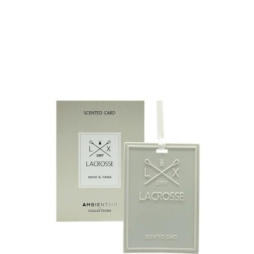 LACROSSE Wood&tonka Kartka zapachowa