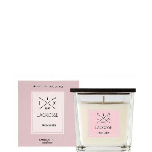 LACROSSE FRESH LINEN Świeca zapachowa