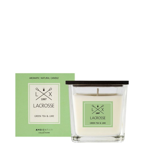 LACROSSE Green tea&lime Świeca zapachowa