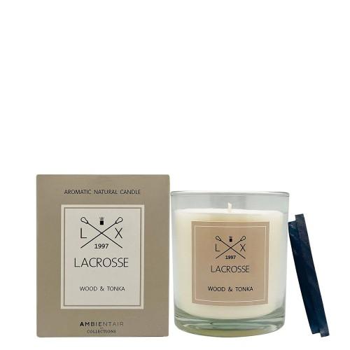LACROSSE Wood & Tonka Świeca zapachowa
