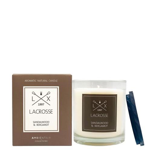 LACROSSE SANDAL WOOD & BERGAMOT Świeca zapachowa