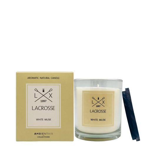 LACROSSE White Musk Świeca zapachowa
