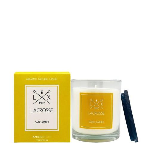 LACROSSE DARK AMBER Świeca zapachowa
