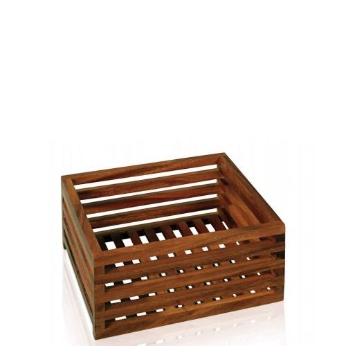 Move Acacia Wood Pojemnik łazienkowy