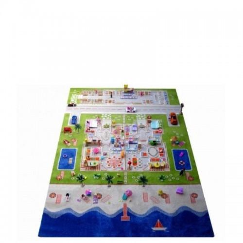IVI Carpets Domek dla lalek Bliźniak Dywan 3D