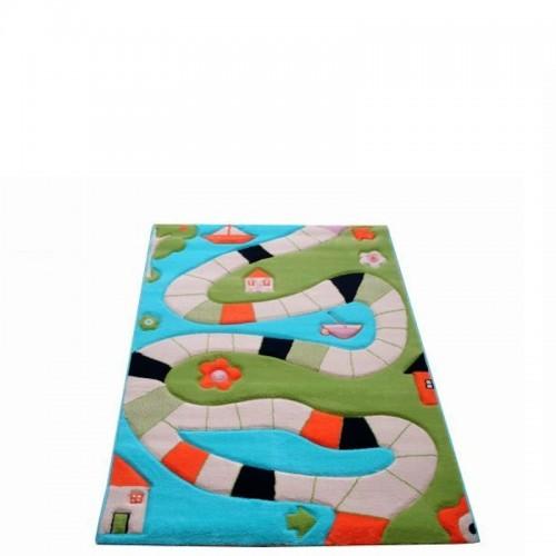 IVI Carpets Plansza do gry Dywan Play - turkusowy