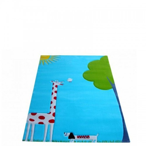 IVI Carpets Żyrafa Dywan Soft Play - turkusowy