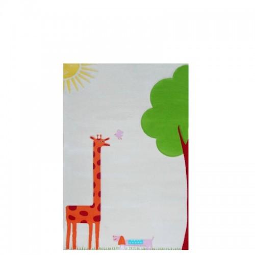 IVI Carpets Żyrafa Dywan Soft Play - kremowy