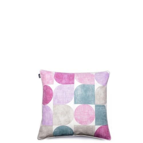 We Love Beds Circles Grey&Purple Poszewka