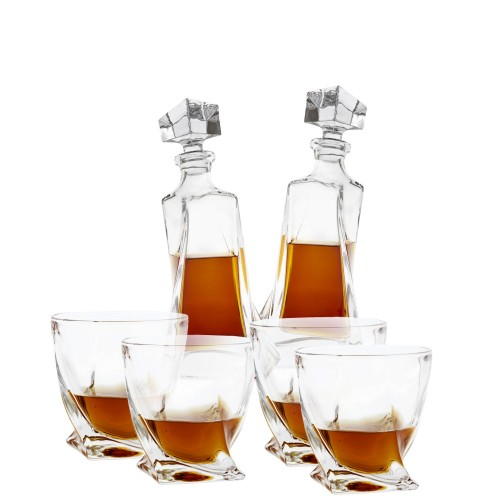Eichholtz Sapphire zestaw do whisky