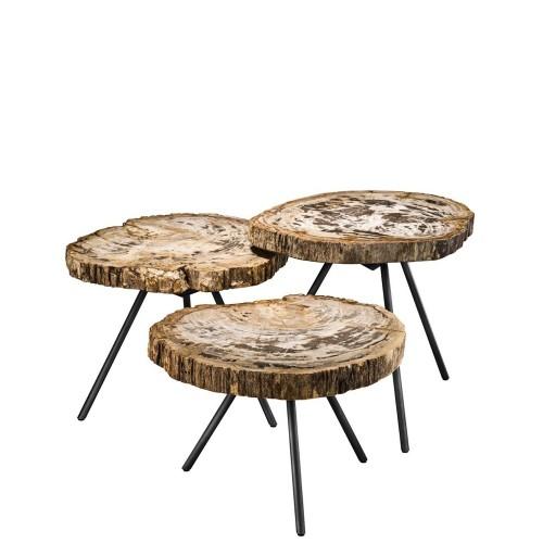 Eichholtz De Soto Komplet trzech stolików kawowych
