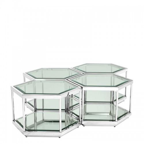 Eichholtz Sax set of 4 komplet stolików