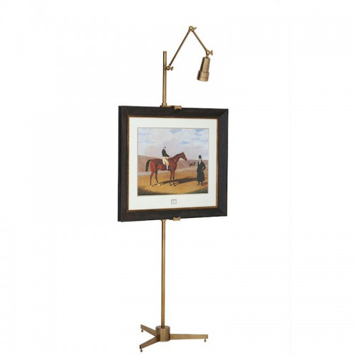 Eichholtz Warhol stojak na obrazy z lampą