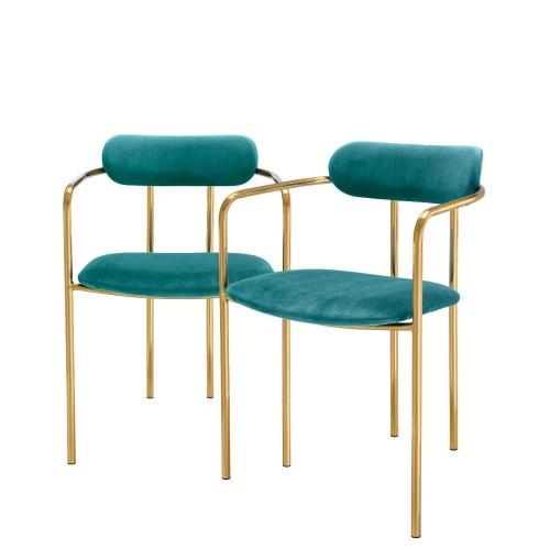 Eichholtz Singer komplet dwóch krzeseł