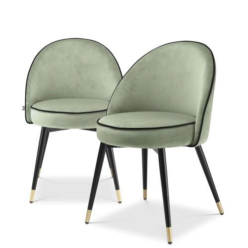 Eichholtz Cooper krzesła do jadalni, 2 szt.