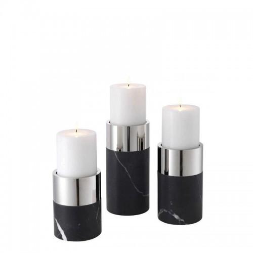 Eichholtz Sierra zestaw 3 świeczników