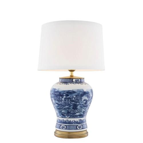 Eichholtz Chinese Blue lampa stołowa