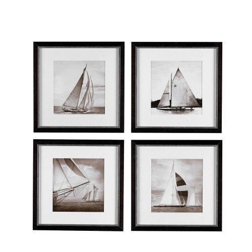 Eichholtz Michael Kahn Boats EC081 zestaw 4 fotoobrazów