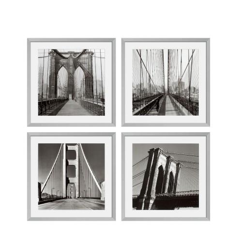 Eichholtz New York Bridges EC193 zestaw 4 fotoobrazów