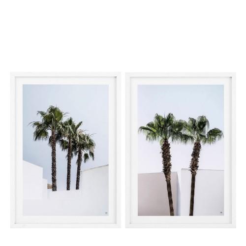 Eichholtz EC273 Minimal Palm Trees zestaw 2 fotoobrazów